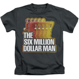 Youth: The Six Million Dollar Man - Run Fast T-shirts
