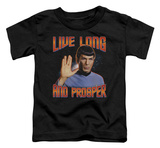 Toddler: Star Trek - Live Long And Prosper T-shirts