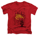 Juvenile: The Dark Crystal - Poster Lines T-shirts