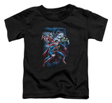 Toddler: Justice League - Cosmic Crew Shirts