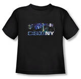 Toddler: CSI NY - Never Rests T-shirts