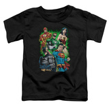 Toddler: Justice League - Will Power T-Shirt