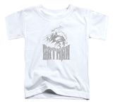 Toddler: Batman - Knight Sketch T-shirts