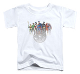 Toddler: Justice League - Circle Crest Shirt