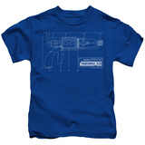Juvenile: Warehouse 13 - Tesla Gun T-Shirt