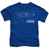 Youth: Warehouse 13 - Tesla Gun T-Shirt