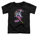 Toddler: Justice League - Colorful League Shirts