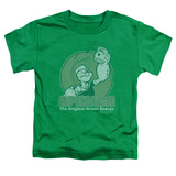 Toddler: Popeye - Green Energy T-shirts