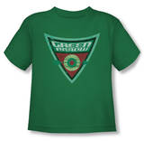 Toddler: Batman The Brave and the Bold - Green Arrow Shield Shirts