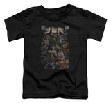 Toddler: Justice League - No.1 Cover T-shirts
