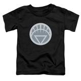 Toddler: Green Lantern - White Symbol T-Shirt