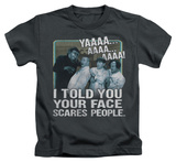 Youth: The Three Stooges - Scares People T-shirts
