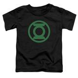 Toddler: Green Lantern - Green Emblem T-shirts