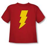 Toddler: Shazam - Shazam Logo T-shirts