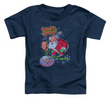 Toddler: Grandma Got Run Over By A Reindeer - Here We Go Again T-Shirt