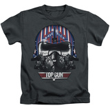 Youth: Top Gun - Maverick Helmet Shirts