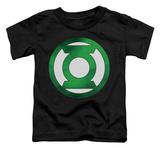 Toddler: Green Lantern - Green Chrome Logo T-shirts