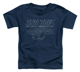 Toddler: Star Trek - TNG Enterprise Shirts