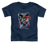Toddler: Justice League - The Coming Storm T-Shirt