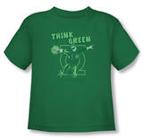 Toddler: Green Lantern - Think Green Shirt