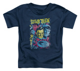Toddler: Star Trek - Classic Crew Illustrated Shirts