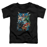 Toddler: Justice League - JLA Assemble T-shirts