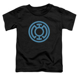 Toddler: Green Lantern - Lt Blue Emblem Shirts