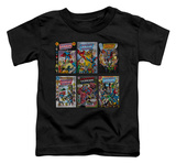 Toddler: Justice League - JLA Covers T-shirts