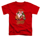 Toddler: Grandma Got Run Over By A Reindeer - I Believe Shirt