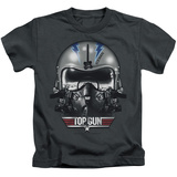 Youth: Top Gun - Iceman Helmet T-shirts