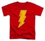 Toddler: Shazam - Shazam Logo Distressed Shirt