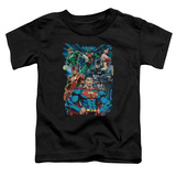 Toddler: Justice League - Justice Is Served T-shirts