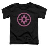 Toddler: Green Lantern - Pink Emblem Shirt
