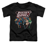 Toddler: Justice League - Charging Justice T-shirts