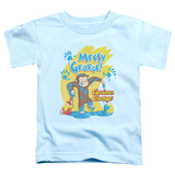 Toddler: Curious George - Messy George T-shirts