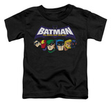 Toddler: Batman The Brave and the Bold - Head Lineup T-shirts