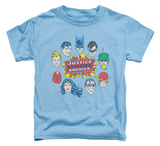 Toddler: Justice League - Justice Head Circle Shirt
