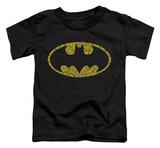 Toddler: Batman - Word Logo Shirt