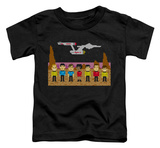 Toddler: Star Trek - TOS Trexel Crew T-shirts