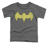 Toddler: Batman - Batgirl Logo Distressed Shirts