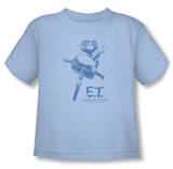 Toddler: E.T. - Bike T-shirts