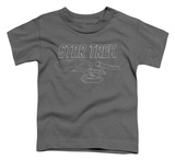 Toddler: Star Trek - TOS Enterprise T-shirts