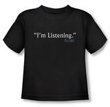 Toddler: Frasier - I'm Listening T-shirts