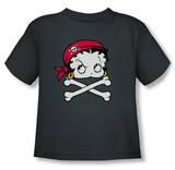 Toddler: Betty Boop - Pirate T-Shirt