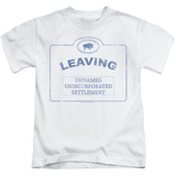 Youth: Warehouse 13 - Now Leaving Univille T-shirts