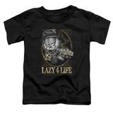 Toddler: Garfield - Lazy 4 Life T-shirts