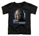 Toddler: Star Trek - TNG Worf Shirt