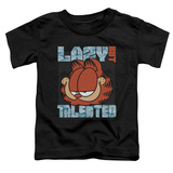 Toddler: Garfield - Lazy But Talented T-Shirt