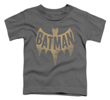 Toddler: Batman Classic TV - Vintage Logo T-shirts