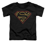 Toddler: Superman - Colored Shield T-Shirt